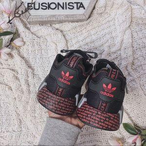 adidas Shoes - NWT🍭 Rare Adidas NMD R1 Black/Red Special Edition